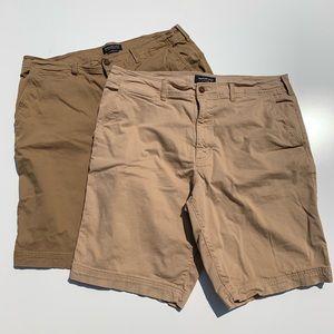 AEO   2 Extreme Flex Cargo Shorts Bundle Lot